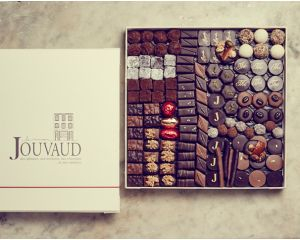 le ballotin de chocolats noirs 1kg