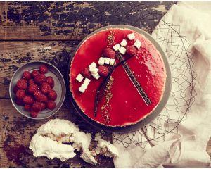 Le Vacherin fraise ou framboise