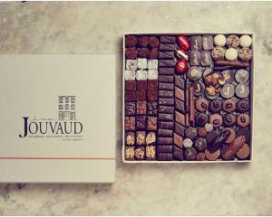 le ballotin de chocolats noirs 750gr