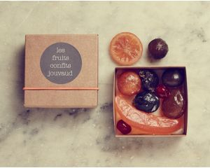 Les fruits confits assortis - 230 gr
