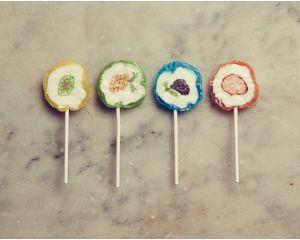 Les sucettes aux fruits